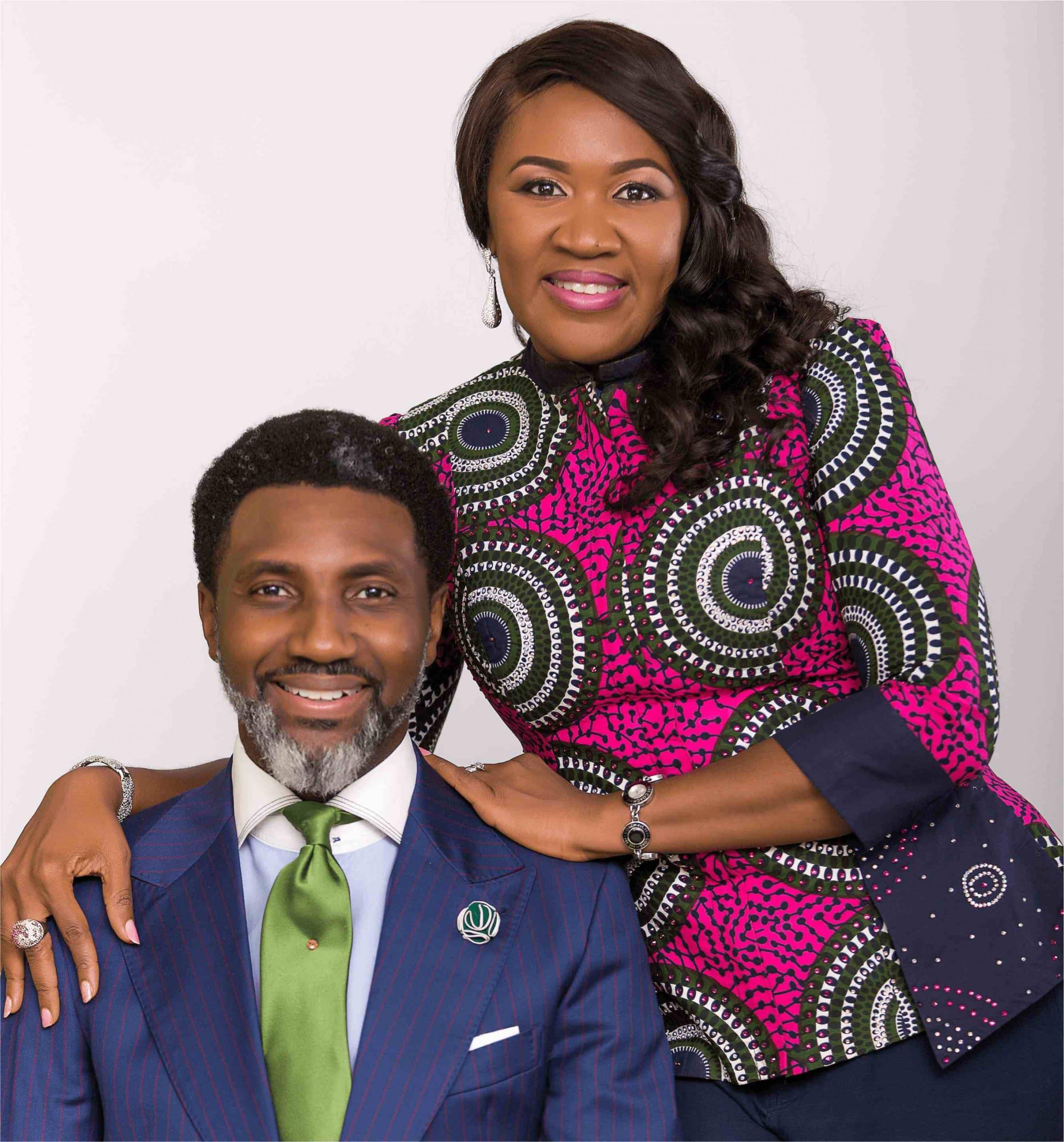 Apostle Goodheart and Pastor Abimbola Ekwueme
